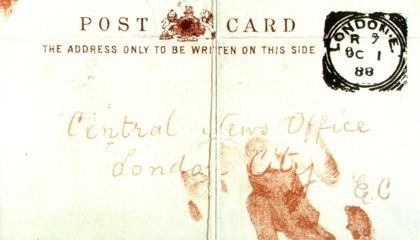 Were the Jack the Ripper Letters Fabricated by Journalists?