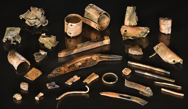 Warrior's Toolkit Sheds Light on Ancient Battle