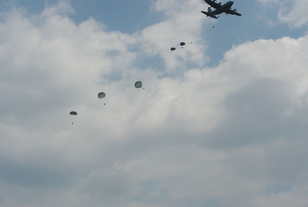 82nd Airborne Soldiers of the 2/505 PIR Alpha Company, US ARMY