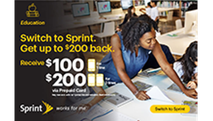 Image:  How Sprint's 1Million Project Is Helping Displaced Students