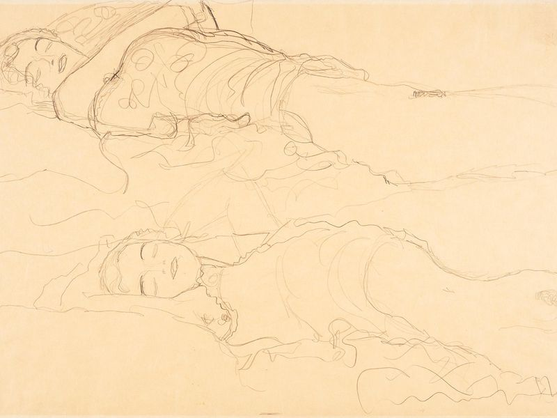 Lost' Klimt Drawing Found in Cupboard of Museum Personal