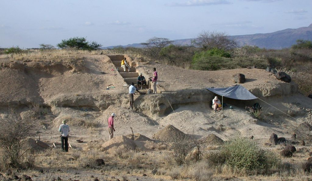 At the Olorgesailie Basin site, Smithsonian researchers found evidence of long distance trade, the use of color pigments and sophisticated tools all dating back tens of thousands of years before previously believed. Researchers believe the environment during this crucial time was notably changeable, with high mammal turnover and unreliable resources.