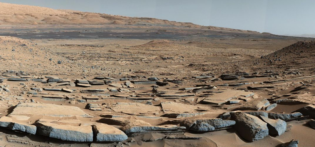 Caption: Where to Search for Fossils on Mars
