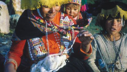 In a Small Village High in the Peruvian Andes, Life Stories Are Written in Textiles
