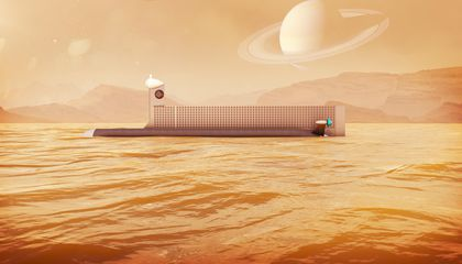 A Submarine for Titan's Seas
