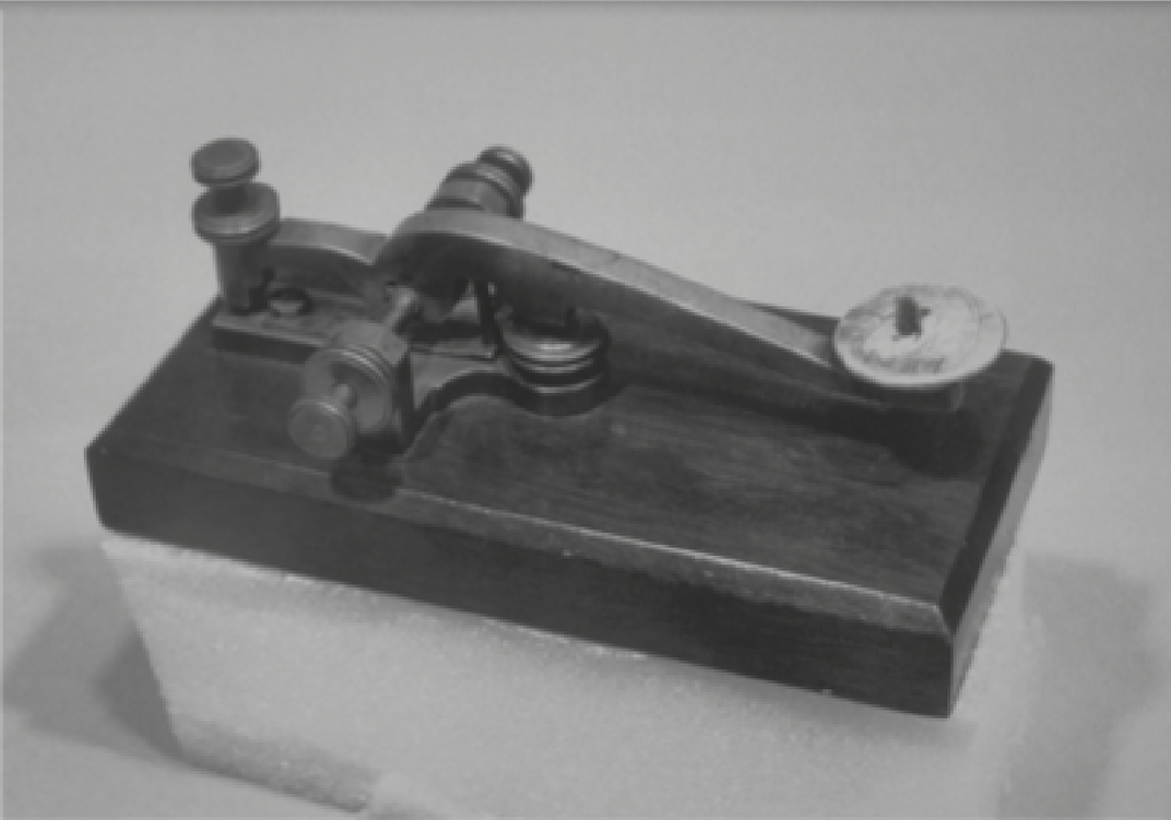 Image of an early telegraph