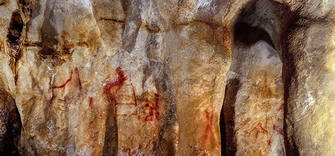 Caption: Were Neanderthals the Earliest Cave Artists?