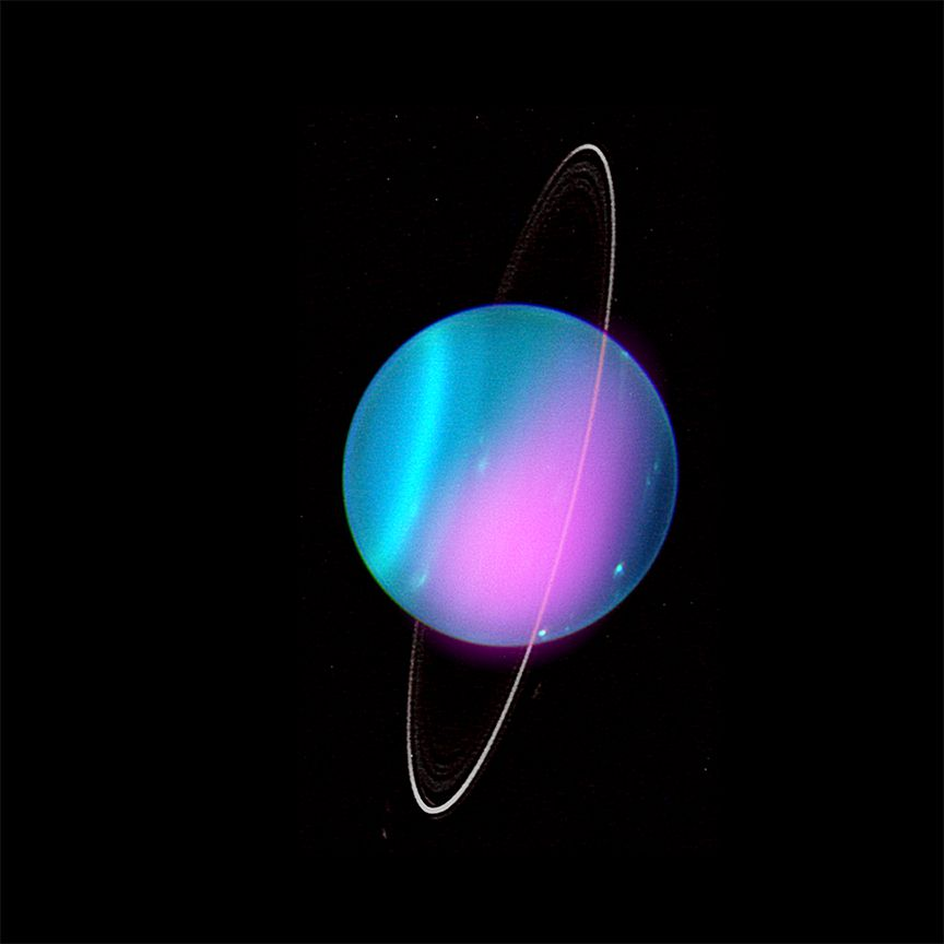 Scientists Detect X-Rays Radiating From Uranus