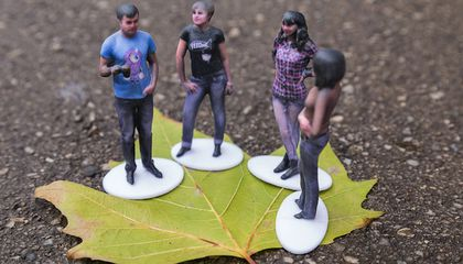 3-D Printed Selfies Combine the Two Trends of the Year