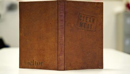 This Book Is Bound in Lab-Grown Jellyfish Leather