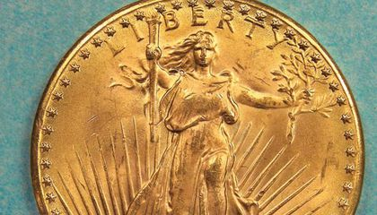 double eagle coin front
