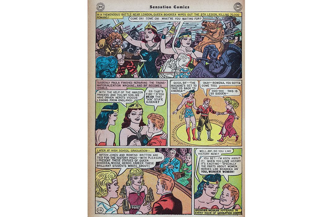 The Surprising Origin Story Of Wonder Woman  Arts  Culture  In This Episode Wonder Woman Takes Another Character Bif Back In Time To  Prove That Historyespecially Womens Historyisnt Boring Persuasive Essay Examples For High School also Buy Science Fair Projects  Do My Eassy