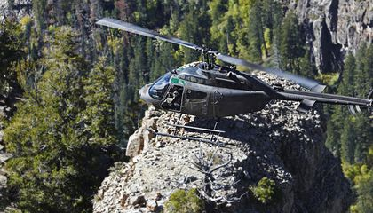 Mountain Training for Helicopter Pilots