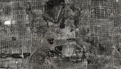 San Francisco From the Air, 1938 and Today
