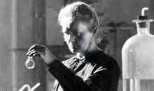 Madame Curie in Paris