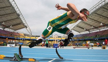 Does Double-Amputee Oscar Pistorius Have an Unfair Advantage at the 2012 Olympic Games?