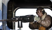 Jamie Stowell the sole female cadet enjoyed her turn at a 50 caliber machine gun Im not a gun nut she says But oh my God Its just astonishing power