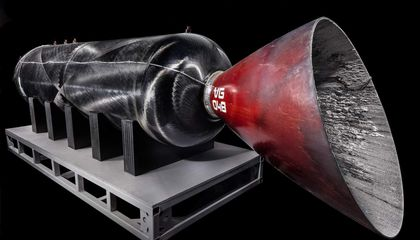 The Engine Powering the Future of Civilian Spaceflight Enters the Collections