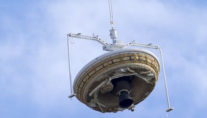 "Watch Video From NASA's ""Flying Saucer"" Test"