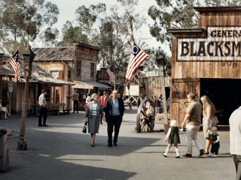 Old West, as seen through 1967 Orange County eyes