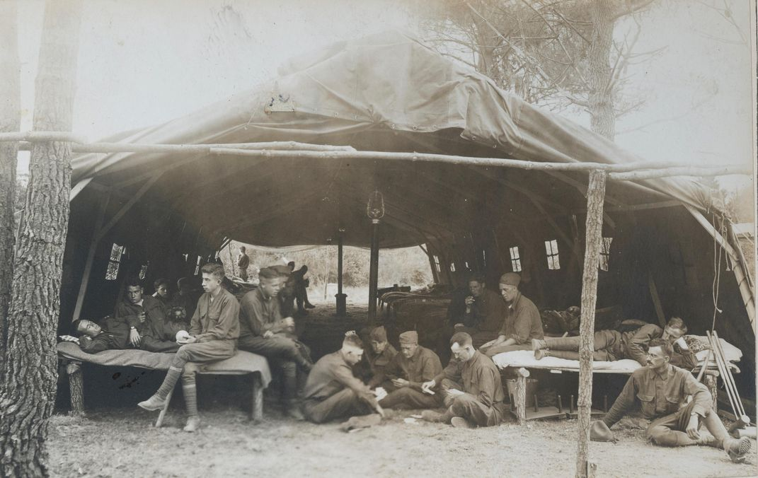 Soldiers in France