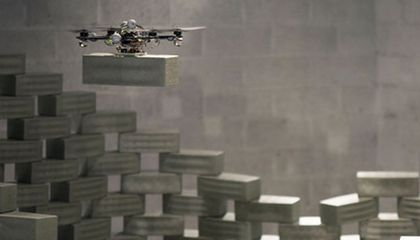 The Drones of the Future May Build Skyscrapers