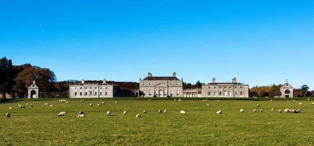 Russborough House in County Wicklow