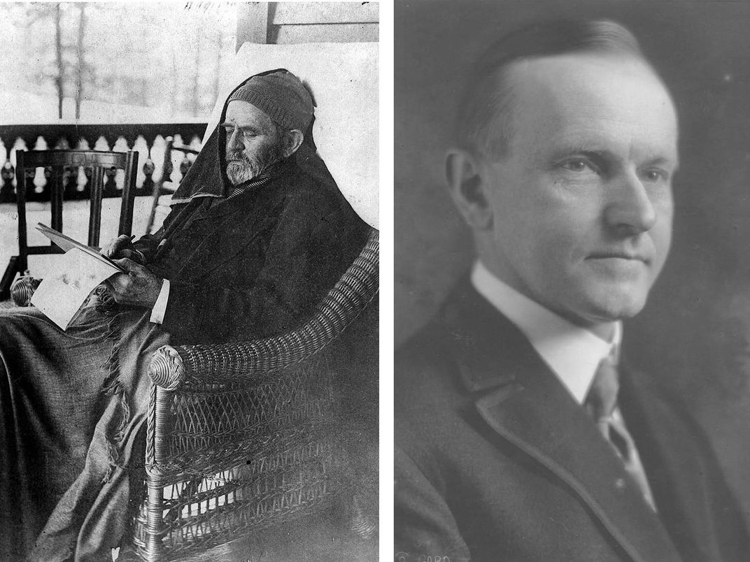 Ulysses S. Grant and Calvin Coolidge