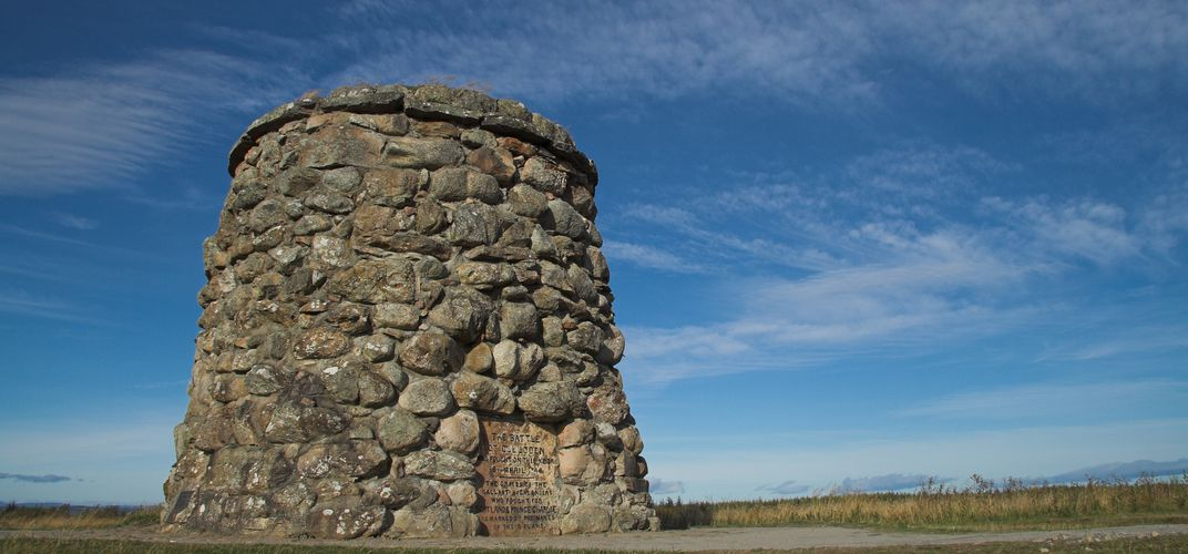 The memorial at Culloden