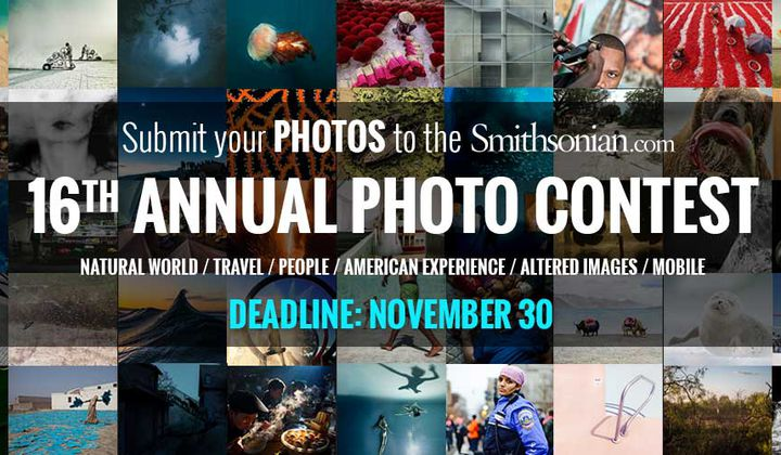 Submit to Smithsonian.com's 16th Annual Photo Contest