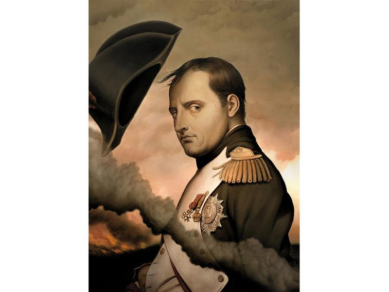 Why Wed Be Better Off If Napoleon Never Lost At Waterloo - If celebrities were 19th century military generals they would look like this