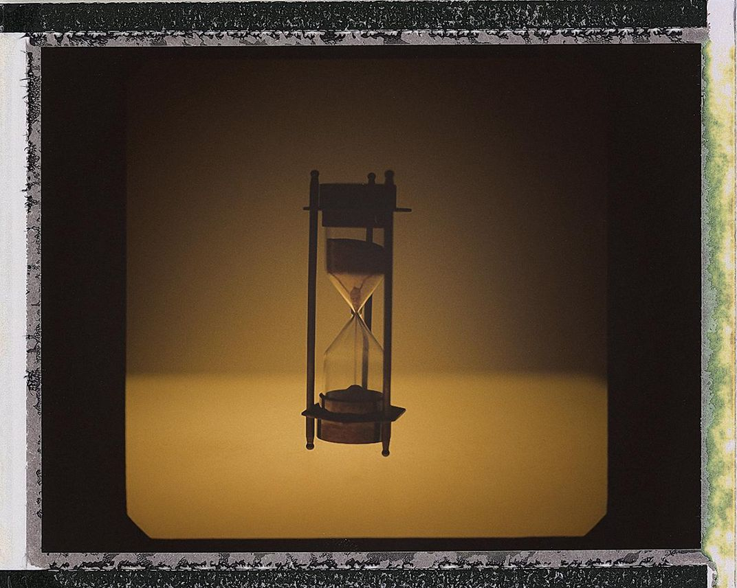 Before I began disinfecting my Polaroids, I focused on the concept of time. Counting days was a way of marveling at this moment in our history. The lockdown had not yet become the norm and there was no routine, so time felt infinite; and yet, its movement