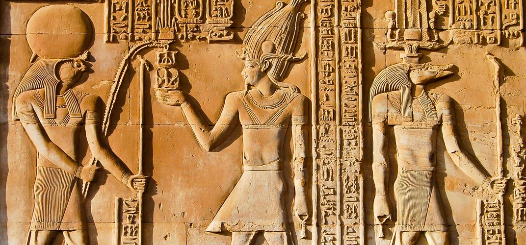 The gods Horus and Sobek, Kom Ombo