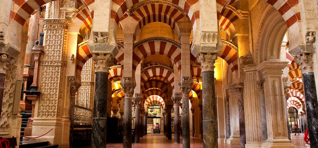 The Mezquita of Cordoba, a Roman Catholic cathedral and former mosque
