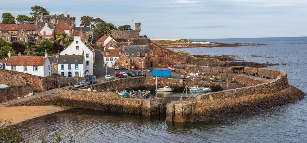 Seaside village of Crail