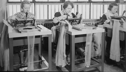 Stocking Series, Part 1: Wartime Rationing and Nylon Riots