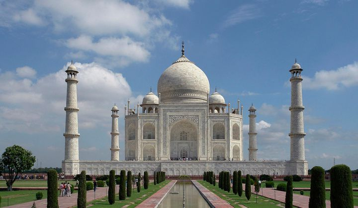 The Taj Mahal Is Covered In Bug Poop and Pollution