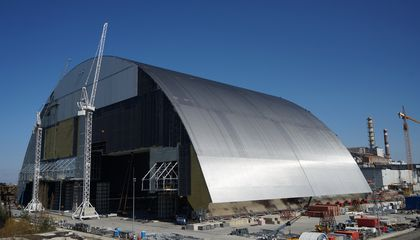 Thirty Years Later, a Gigantic Arch Is Set to Cover Chernobyl