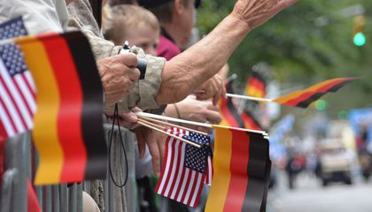 Germans and Americans Agree That They're Allies, Disagree On Why