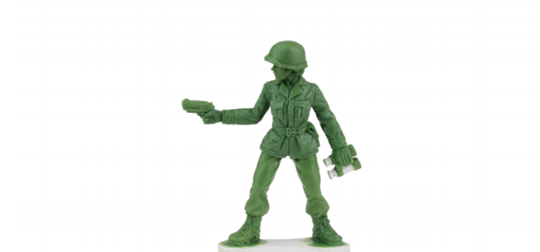 Caption: Little Green Army Men to Feature Female Soldiers