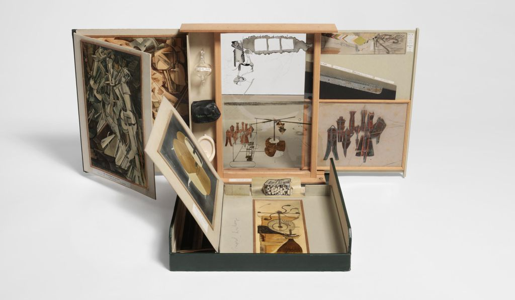<em>From or by Marcel Duchamp or Rrose Sélavy (The Box in a Valise)</em> by Marcel Duchamp, 1935-1941/1963