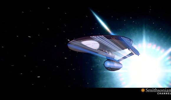 Preview thumbnail for video'Physicists Try to Make Star Trek's Warp Drive a Reality