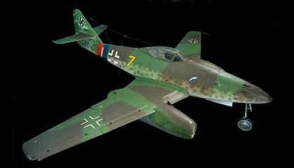 The Day Germany's First Jet Fighter Soared Into History