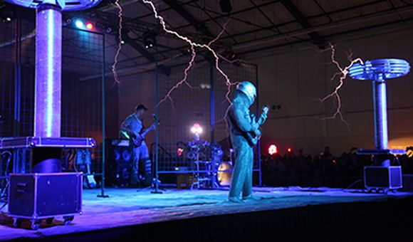 Preview thumbnail for video'ArcAttack: Creators of the Original Singing Tesla Coil