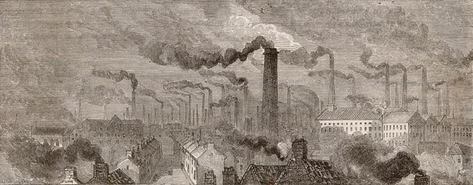 Manchester in 1870