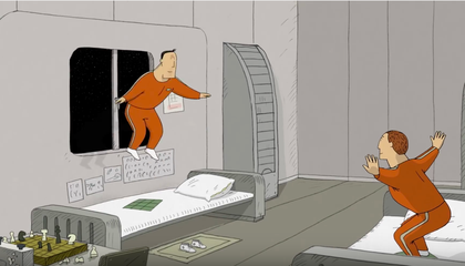 An Oscar-Worthy Animated Tale of Two Cosmonauts