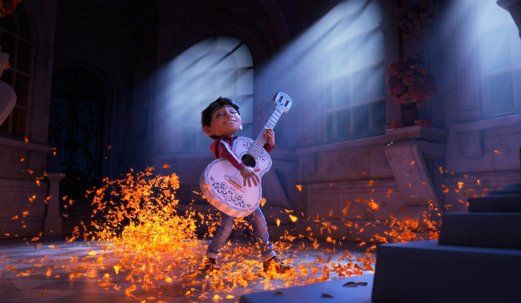 """Coco"" is the story of Miguel, a young boy eager to follow his passion for music in a family that has banned music for several generations."