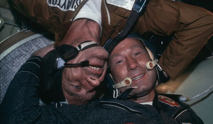 With Apollo-Soyuz, the Cold War Thawed a Little