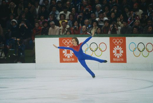 Scott Hamilton, Figure Skating