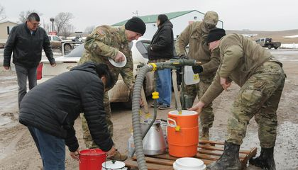 Midwest Floods Lead to 'Humanitarian Crisis' on Pine Ridge Indian Reservation